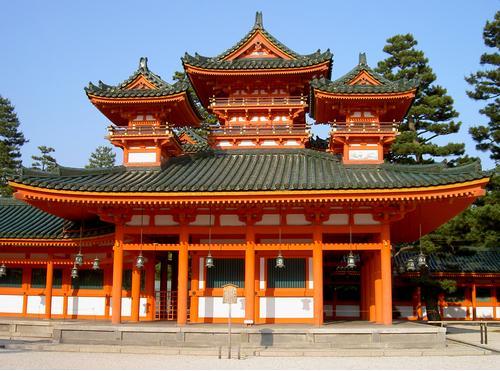 מקדש שינטו מבטא גם הוא את האסתטיקה היפנית